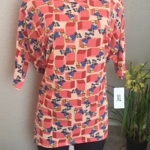XL DISNEY Donald Duck Blouse